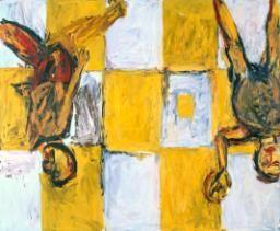 Baselitz is het bekendst van zijn 'op-zijn-kop'- schilderijen, waarin de motieven ondersteboven worden weergegeven. Baselitz was, in de jaren zestig van de 20e eeuw, een van de eersten die zich keerde tegen de dominante minimalistische abstracte kunst van die dagen en teruggreep naar de wortels van de Europese expressieve schilderkunst. Hij is beïnvloed door Edvard Munch en was zelf van grote invloed op De Nieuwe Wilden.
