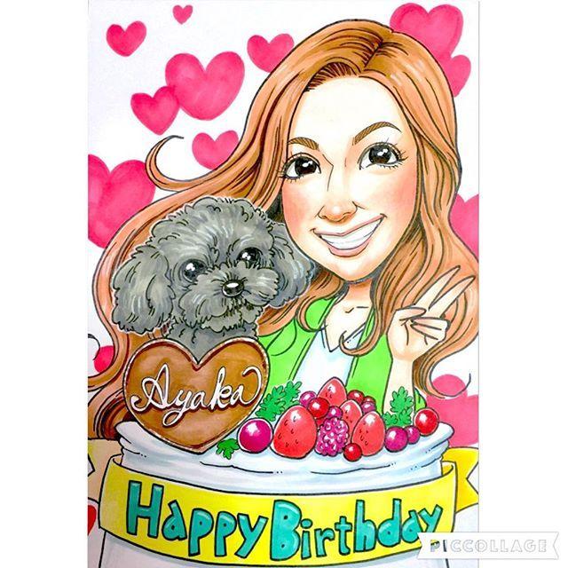 . 🌟🌟 全国どこでも郵送できます!😊 🌟🌟 . . ❤️ プレミアム似顔絵 ❤️ . . 彼女さんの誕生日プレゼントに、 愛犬と一緒に描かせていただきました!✨ . 黒のトイプードルも可愛いですね🐶😍 . . 大切な愛犬と一緒に、 素敵なお誕生日をお過ごしください🎉 . . . . リクエスト何でもお描き出来ます!👌🎶 . プレゼントにもオススメです!😁🎁 . 〜似顔絵価格〜 ◎プレミアム似顔絵◎ . 【A4サイズ似顔絵 1名様】 10,000円🌟 . 【合計】 10,000円💡 . となっております!😊 . . 送料無料&額縁付きです!😋👌💡 . . ご注文・お問い合わせなどは、 お気軽にメッセージ下さいませ😁✊ . メッセージ、コメント、LINEページから承ります🙌✨ 直接メッセージを送っていただいても大丈夫です。 . . 🔴店舗LINE ID ⬇️ @mbs4459p . 🔴店舗メール ⬇️ hana@nigaoehana.net . . ーーーーーーーーーーーーーーー . 🌟◎スタンダード似顔絵◎🌟 (…