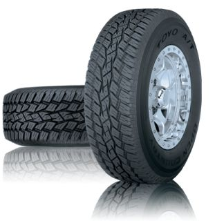 OPEN COUNTRY A/T - Offers aggressive traction for pickups, vans and SUVs. This versatile all-terrain tire delivers rugged good looks without compromising handling, ride comfort or on- and off road stability.    All terrain tough - on road comfort.