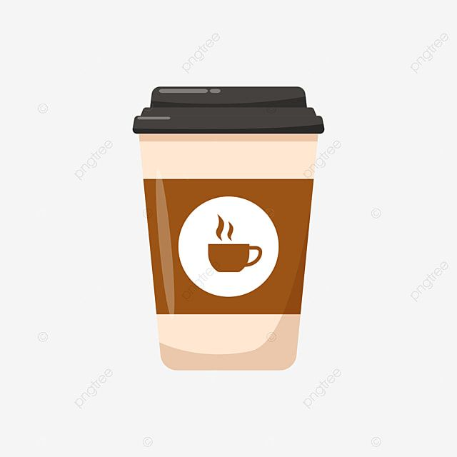 Disposable Coffee Cup Vector Illustration With Flat Design Coffee Mug Clipart Coffee Disposable Png And Vector With Transparent Background For Free Download In 2021 Coffee Illustration Coffee Cup Clipart Coffee Icon