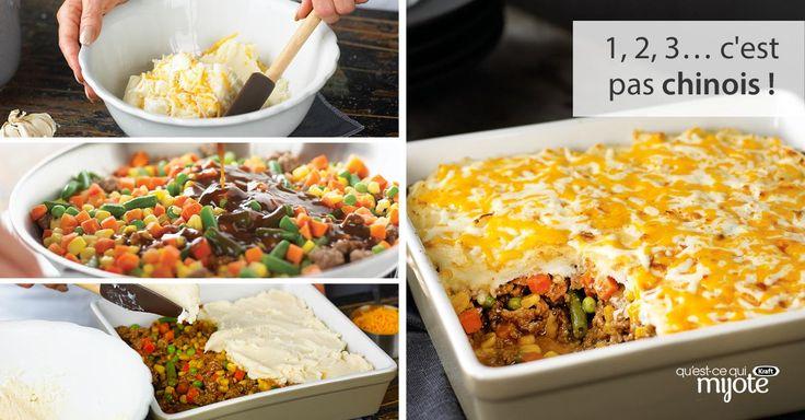 Pâté chinois facile #recette