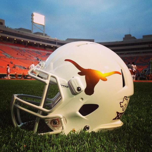 Texas Longhorns 2014 Chrome Decal Helmets | COLLEGE ...