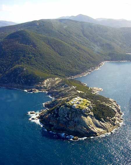 I'm going to be staying here! At the end of this point! In November! Wilson's Promontory Lighthouse, Victoria, Australia