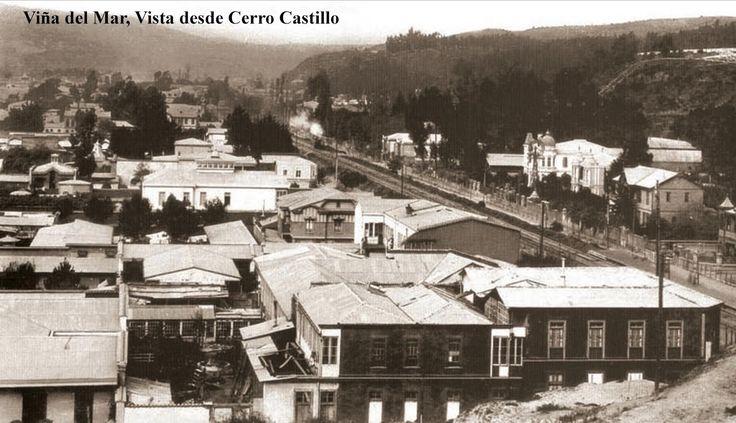 Vista desde Cerro Castillo, Viña del Mar