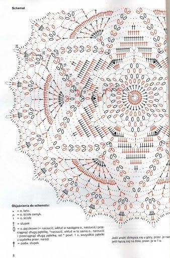Häkelschrift zu schönem runden Deckchen Sabrina robotki 8 2009 - sevar mirova - Álbumes web de Picasa
