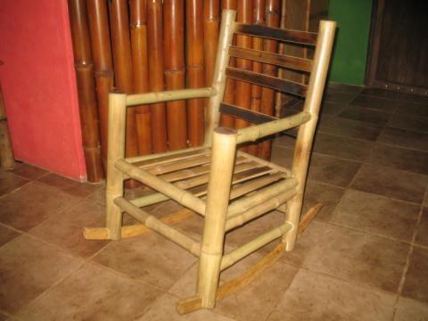 muebles de bamb para terraza y piscina