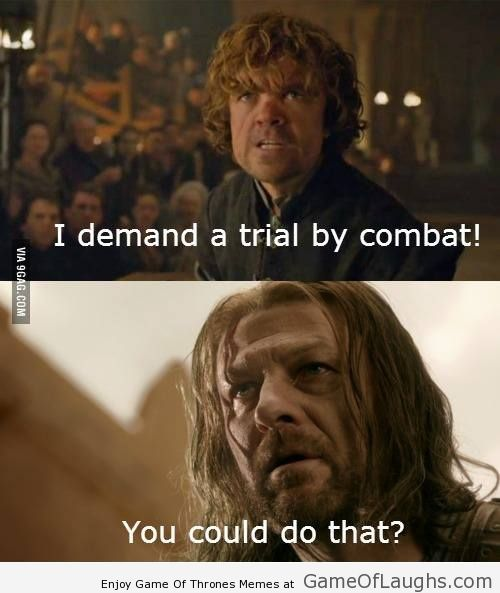 This is how Ned Stark could've saved his life - Game Of Thrones Memes