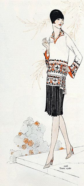 September 1927 Fashion    From the September 1927 issue of Ladies' Home Journal magazine.