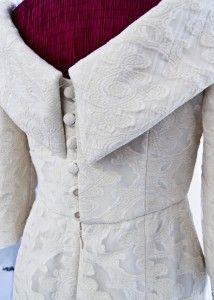 A sneak peek of the haute couture dress for Queen Mathilde of Belgium made by couturier Edouard Vermeulen - Maison NATAN
