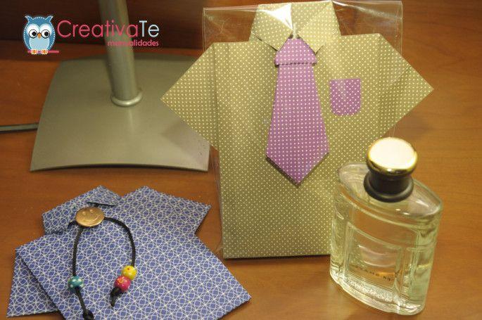 Camisa origami día del padre