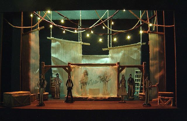 This Is The Set Model For The Quintessence Musical Theatre