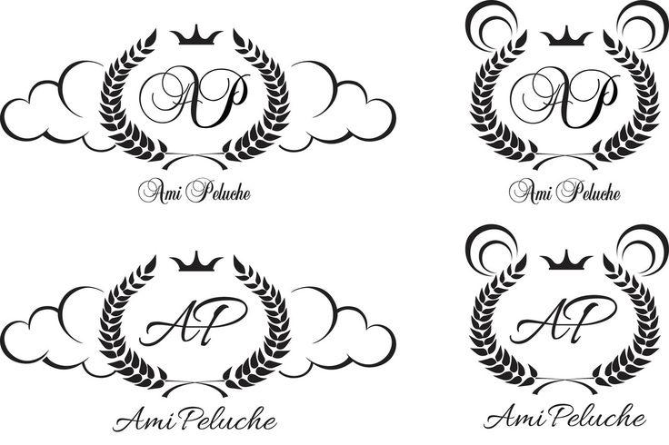 А у нас продолжается работа над логотипом для #AmiPeluche ✨ Есть ещё вот такие варианты. Что думаете?  У нас кстати в понедельник будет стартовать ооочень крутой проект, посвящённый теме семьи. Ждите, будет очень интересно!   #decohata #decohata_graficdesign #декохата