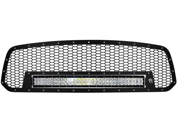 "2013-16 Dodge Ram 1500 Grille with 30"" RDS LED Light Bar"