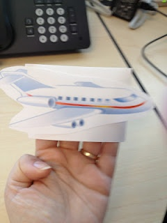 Libraryland: The Airplane Song (Laurie Berkner)  Envelope Finger Puppet for Children to Take Home