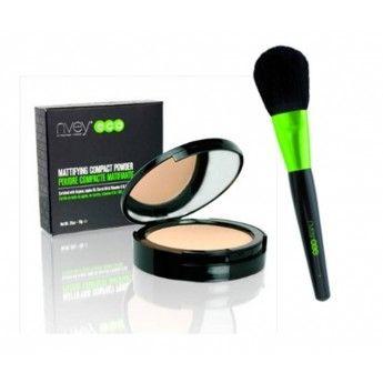 ¡Ahorra más de un 15% de descuento! http://belleza.tutunca.es/pack-polvos-maquillaje-brocha-nvey-eco