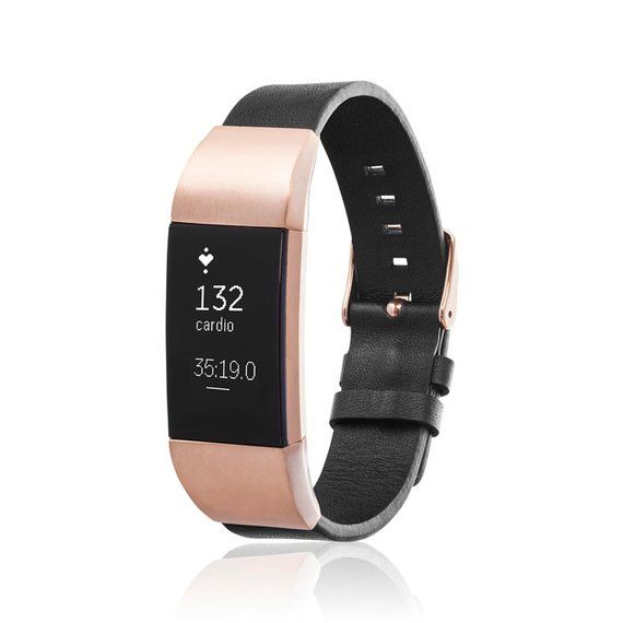 Bracelet Glen For Fitbit Charge 2 Tracker Black Rose Gold In 2020 Fitbit Bands Fitbit Charge Workout Accessories