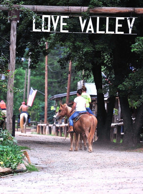 Love Valley! I grew up no more than fifteen miles from this place. We used to go to rodeos on Saturday nights.