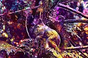 "New artwork for sale! - "" Autumn Squirrel by PixBreak Art "" - http://ift.tt/2uQWgon"
