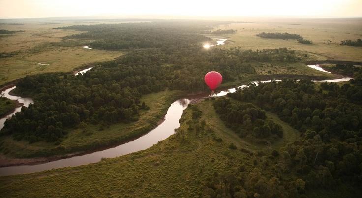 Balloon Ride over the Serengeti National Park - Tanzania
