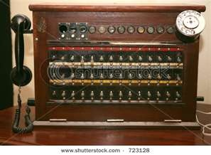 phone operator switchboard--Mom and Mimi used to do at telephone office when they were operators