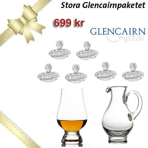 Stora Glencairn paketet - Dryckesglas.se