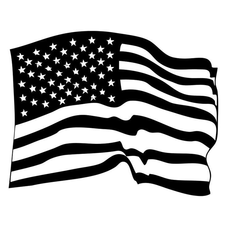 amerikaanse vlag amerikaanse vlag vlag silhouet