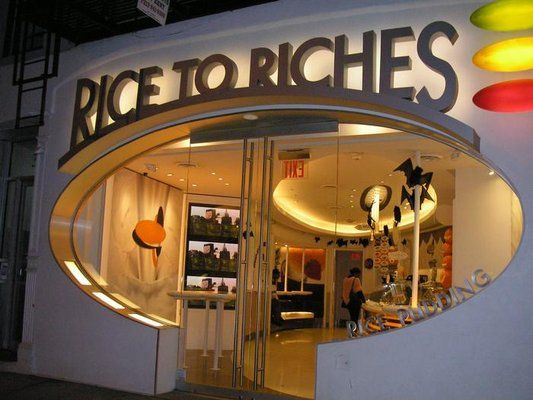 Rice To Riches  1701 good reviews   37 Spring St  (between Mott St & Mulberry St)   New York, NY 10012  Neighborhood: Nolita  (212) 274-0008  http://www.ricetoriches.com
