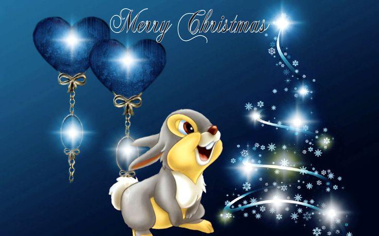 Disney Desktop Wallpaper Thumper! Christmas Inspiration