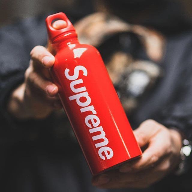 Supreme SIGG Traveller 0.6L Water Bottle SS18 Authentic Brand New