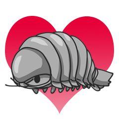 Giant Isopod - Creators' Stickers