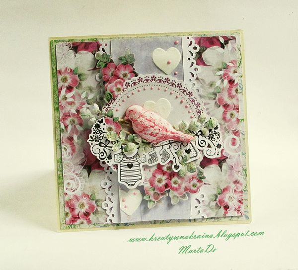 Card for a baby
