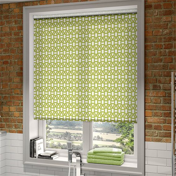 Lace Lime Roller Blind from Blinds 2go