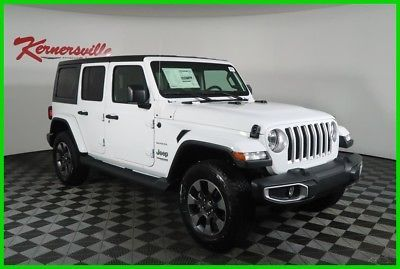 2018 Jeep Wrangler Sahara 4WD V6 Backup Camera Side Steps Uconnect New 2018 Jeep Wrangler Unlimited Sahara 4WD V6 Backup Camera Side Steps…