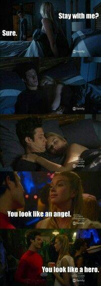 "#Stitchers 1x11 ""When Darkness Falls"" - Kirsten and Cameron"