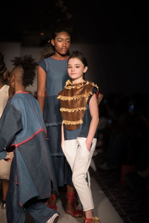 Isossy Children at Golden Magazine's 6th Runway Show in NYC on Sunday 26th March 2017! www.alegremedia.co.uk #alegremedia Photo Credit: @kevaind