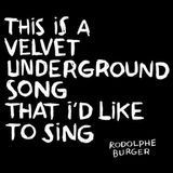 This Is a Velvet Underground Song That I'd Like to Sing [LP] - Vinyl, 21741203