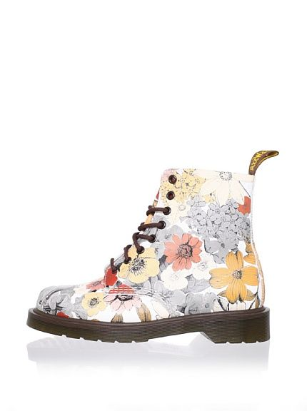 Beautiful Dr. Martens Floral Pascal Boot