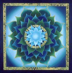 Charlotte Backman - Blue Aura Lotus