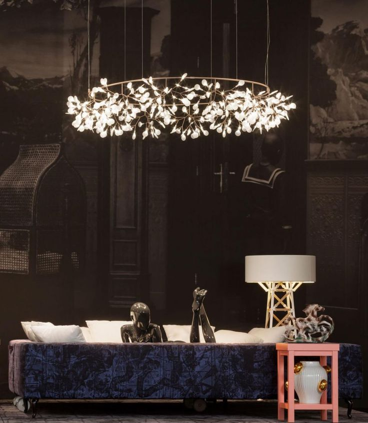 Heracleum the Big O  by Bertjan Pot  The Heracleum lamp by Bertjan Pot & Marcel Wanders is a force of nature! Just like the plant that inspired it, the lamp is expanding, transforming and growing new leaves to crown this exciting new design season.