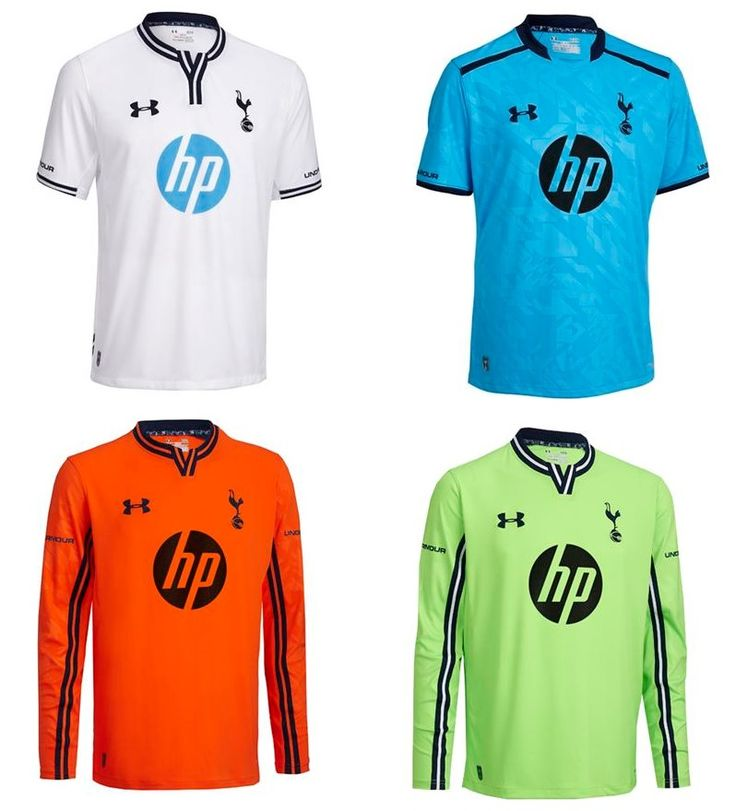 Tottenham Hotspur Under Armour Kits 2013/14