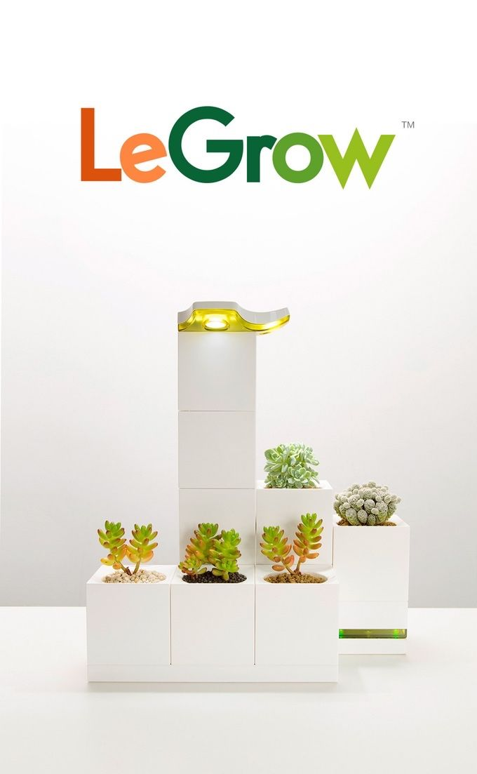 With a unique modular design you can stack and expand to match your lifestyle. Grow a beautiful garden year-round from home or office.