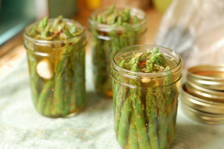 Irene kookt: Ingemaakte groene asperges, inmaakkruiden