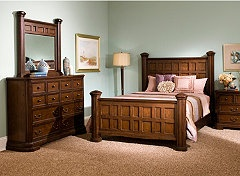 salem bedroom set fans of post mission furniture will fall in love with this bedroom