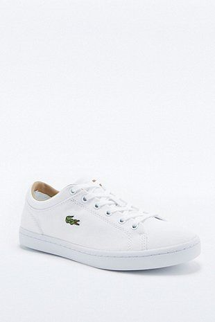 "Lacoste – Sneaker ""Straightset"" in Weiß - Urban Outfitters"