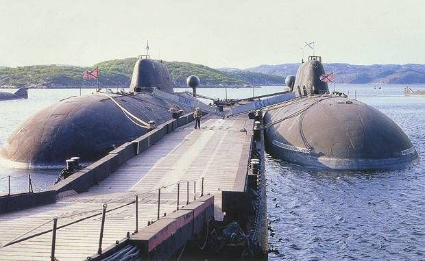 SSN Akula Class (Bars Type 971) Nuclear Submarine - Naval Technology