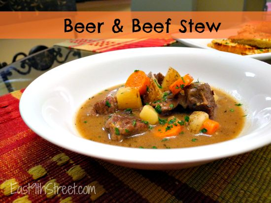 Beer and Beef Stew - East 9th Street | Soups | Pinterest