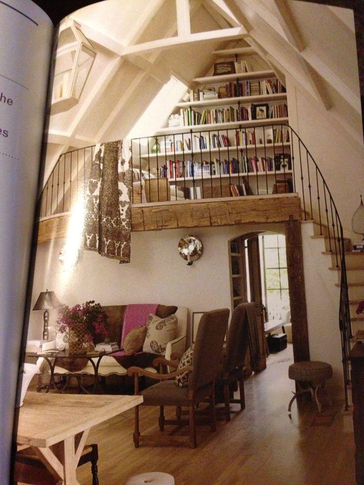 library Haute Home Pinterest
