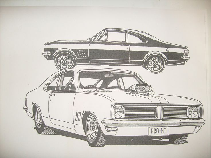Holden monaro free coloring pages for Station wagon coloring pages