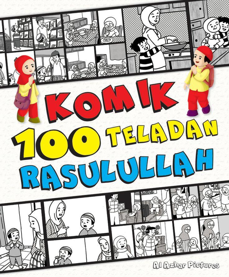 """""""Komik 100 Teladan Rasulullah."""" (Dengan gambar) Buku"""