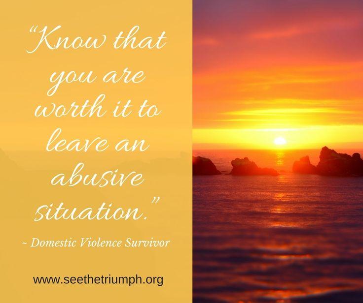 Dating a domestic abuse survivor